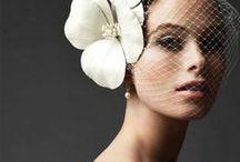 Bridal Head Dress Inspiration / head piece ideas for unique brides