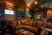 Comfy Living Areas / by Rhonda West