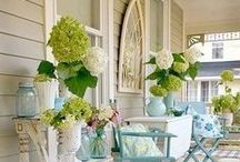 Peaceful Pretty Porches / by Debbie Howard