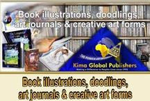 Book illustrations, doodlings, art journals & creative art forms / Doodling art, or creating journals by scrap booking and illustrations is a free expression from within and the language often used in Hyper space! I would now like to share this board with others who love this kind of creative past time. Just make a comment on any of the art and I will add you to this board, or contact me on nadine8may@gmail.com