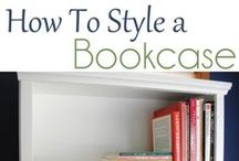 Decorating With Books / The many ways books can be displayed or used in decorating a room.