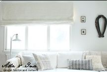 Curtain Ideas / Curtain Idea Board is created by Ada & Ina. Especially we love all natural fabric curtains. http://www.linenfabrics.co.uk