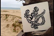 Zentangle {inspiration & tangle patterns}