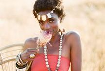 africa | inspired / This shoot was published on 100 Layer Cake's blog & Magnolia Rouge magazine. / by Thorne Artistry