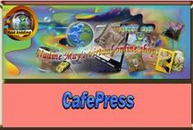Cafe Press / This is a great website were everyone can create their own products to buy or sell. If anyone likes to add their products leave a message or connect with me on Cafe Press
