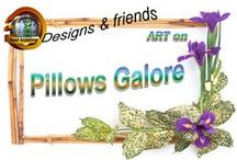 Pillows Galore / In this board you will find an amazing and creative collection designs on pillows of all shapes that can be purchased through... Redbubble,Society6 , Zazzle Store, Cafepress and others....