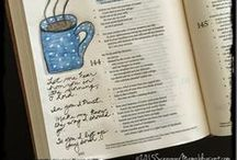 Bible Journaling / Bible and Prayer Journal Ideas to Enhance Bible Study and Prayer Time / by Debbie Howard