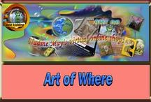 Art of Where / Look at the many stunning products with individual designs you can buy here. if you are a designer on this forum please let me know so I can add you to this board.