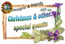 Christmas & other special events / Designs that were created for special events like Christmas, Valentine, Easter, Mother's & Father's day and other special holidays.