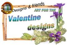 Valentine designs / All about how to say 'I Love You' on the Day of Romance, the 14th of February but....why not make Valentine day the whole year around. Anyone who would like to add their Valentine products here, leave me a message