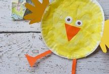 Toddler Crafts for the Library