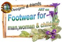Footwear for man & woman / Lately us artists  have an opportunity to design for canvas & linen shoes at Zazzle and Artsadd. Any kind of creative unusual  shoes can be shared here.
