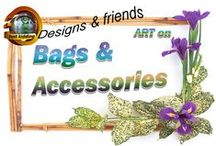 Bags & Accessories / Many of my own and other artist designs look great on these products and are all for sale through the many print-on demand websites like Zazzle,Society6,Redbubble,Artsadd , CafePress& Life Heroes. Happy shopping!