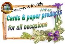 Cards & paper products for all occasions / Cards for Birthdays - Wedding - Special holidays - Parties or any other invitations or letterheads & business cards,napkins,paper plates & bags....