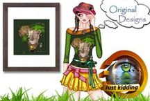 African - Wild animals design / I hope to add more designs about the big five as we call them in South Africa.