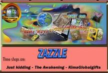 Zazzle + Collections / Zazzle must be one of the largest P.O.D website there is next to CafePress. Anyone can include just their collection boards here to share. On the bottom  this Pinterest page there are more boards with  products just from Zazzle.