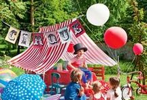 anniversaire fête foraine / cirque