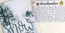 December journal ideas / Simple December journal ideas.