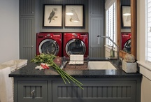 Laundry Room / Lost socks, spilled detergent & crumpled shirts BE GONE!   Multifunctional, inviting & ultra-chic, dreamy... yes it's all possible!  Say goodbye to the laundry room blues and give your hard working space the love it deserves with ideas from this inspiring board.