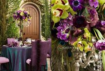 Peacock & Purple Wedding