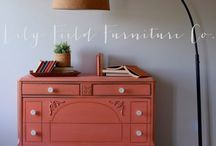 Painted Furniture by Lily Field Furniture Co. / Tutorials and Tips for DIY Painting Furniture