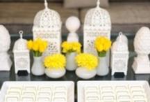 Yellow Modern Wedding