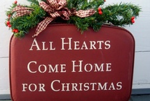 What I love about Holidays & Christmas!!   / Christmas is my Favorite Holiday.  The birth of our Lord!   The joys of the season and family brings it all together making it Spectacular!!! / by Donna Turner