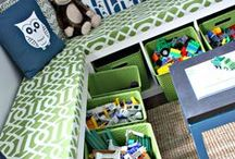 TIPS Toy Room / The toy room is overflowing! Get tips on ways to organize toys, things to do with toys and ideas on where to put toys.