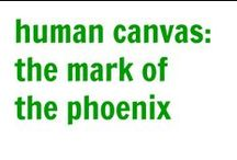 Human Canvas | The Mark of the Phoenix / If I ever get a tattoo, it's gotta be a phoenix!