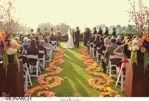 Torrey Pines Lodge Wedding - Orange & Purple / Lodget at Torrey Pines purple and orange wedding.