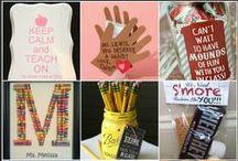 HOLIDAY Teacher Appreciation / Teacher appreciation gifts and ideas for Teacher Appreciation Week!
