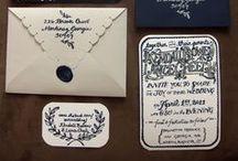 wedding invitations / by Leland Rowley