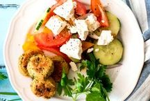 "Healthy Light Greek Style Food Recipes / Greek-Inspired Recipes. Welcome!   This board is for both traditional and ""fusion"" greek cuisine for quick, healthy, clean every-day meals as well as WOW factor recipes for special occasions. Pin respectfully please! Contributors: Please post (UP TO 6 PER DAY) artistic images. Non-Greek Style or images not leading to a recipe or information WILL be gently removed.  DO NOT INVITE. Thank you and have fun!"