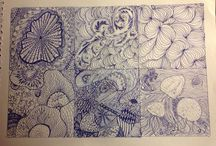 Oodles of Doodles / Doodling for sanity, inspired by my sisters.