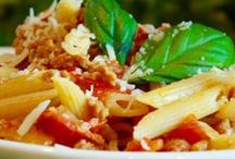 RECIPES Pasta / You can make pasta a million different ways! Pasta is one of my favorite dishes and on this board you'll find delicious pasta dishes creamy, tomato based as well as pasta side dishes and so many more! Pass the cheese please!
