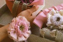 Crafts |  Fabric Flowers / DIY Fabric flowers, flower crafts