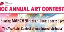 ICC Annual Art Contest, Theme: Incredible India / Children aged 4 to 12 years create an original work of art about their favorite image(s) of India on Sunday, March 5th between 3:00 pm and 5:00 pm at the India Community Center in Milpitas.