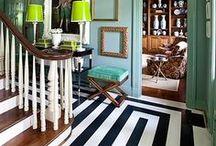 Painted Floors, Stairs & Rugs