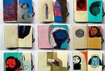 Art Journal / Artists sketchbooks and art journals