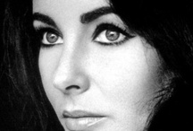 """Elizabeth Taylor / """"put on some lipstick, pour yourself a drink, and pull yourself together."""""""