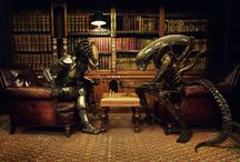 Alien vs Predator / by Paula Trescothick