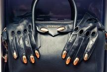 "Bag Lady / ""I love accessories. I'm a girl. I love shoes. I love handbags."" / by Jess"