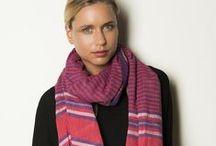 Collection Accessoires A/H 2013 - Dana Esteline by Bibi Russell / Nous sommes heureuses de nous associer à Bibi Russell, avec qui nous partageons les valeurs de respect des personnes et de l'environnement, pour la création des foulards Gamcha et Khadi !