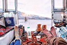 I Want to Go Caravan Traveling