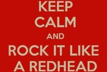 Embracing the Redhead!