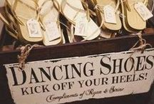 Shoe Party! / Shoes at the party - as invitations, on cakes, as centerpieces, etc.