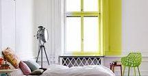 Home Decor / Interiors / White, airy and colorful home design #homedecor #homedesign