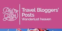 Travel Bloggers' Posts / Great destination guides and tips from travel bloggers around the world. This board is for bloggers to share their best travel related stories and posts. (Rules: Max 5 pins a day and no advertising posts. Please DO NOT add sections to the page) Just message us if you would like to join :-)  Happy pinning!