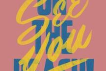 cool type / by Ginette Guiver