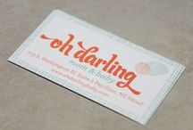 Business Card Design / by Natalie Lowry
